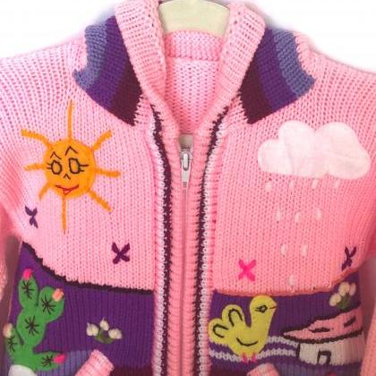 Size 4 Pink Jacket, Hooded Jacket, ..